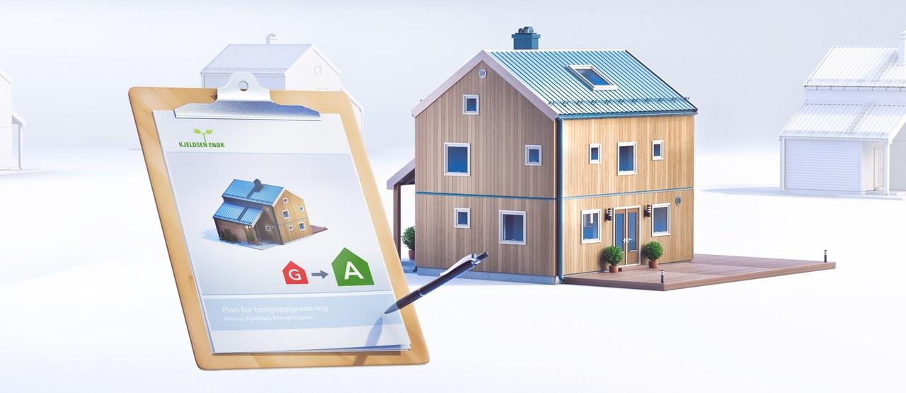 Enova gir støtte til energitiltak
